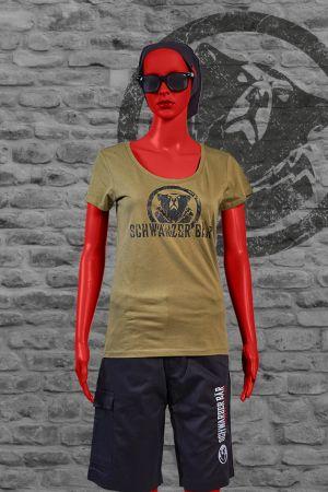 Damen T-Shirt Brunhild vom Schwarzen Bär