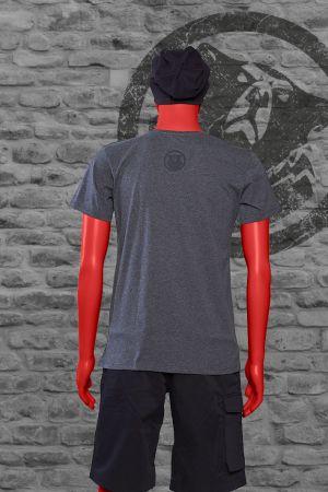 T-Shirt Brunhild Männer grau