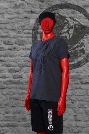 T-Shirt Hagen Männer grau