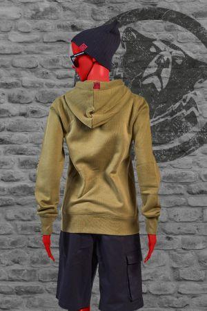 Hoody Brunhild steht für hochwertige Qualität und überzeugt durch einen puren und soften Look. Erhältlich sind die Hoody für Frauen von S-XL. Der schmale Schnitt garantiert eine optimale Passform. Die Flatlock-Nähte vollenden die pure Optik .  Der Hoody G