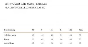 Zipper Classic Frauen grau