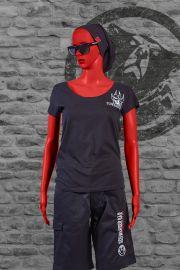 T-Shirt Kriemhild Frauen schwarz